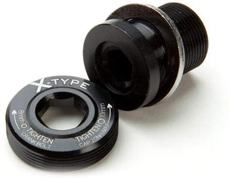Race Face Bolt/Puller Cap X-Type M18 X 24mm Steel | Hovedbeklædning