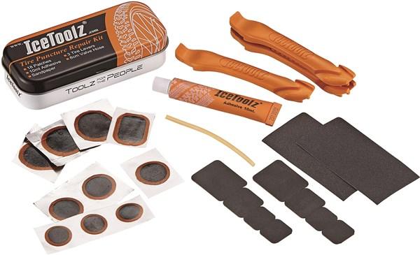 Ice Toolz Puncture Repair Kit | Lappegrej og dækjern