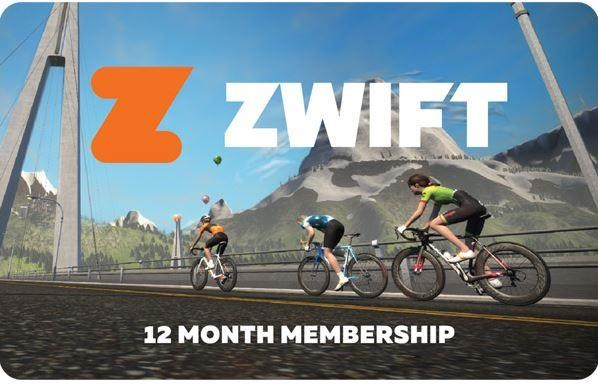 Zwift Membership Card | Hometrainer