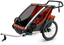 Thule Chariot Cross 2 Double Child Trailer With Strolling Kit