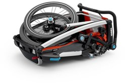 Thule Chariot Cross 1 Single Child Trailer With Strolling Kit
