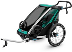 Product image for Thule Chariot Lite 1 Single Child Trailer With Strolling Kit