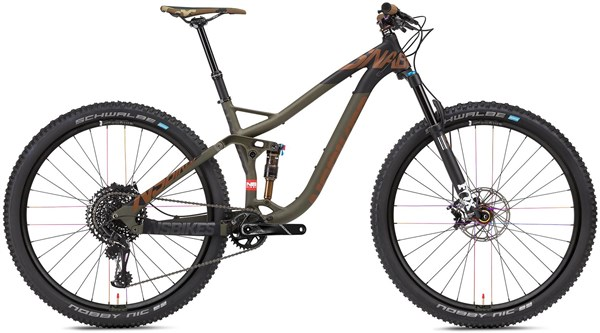 NS Bikes Snabb 130 Plus 1 29er Mountain Bike 2018 - Trail Full Suspension MTB