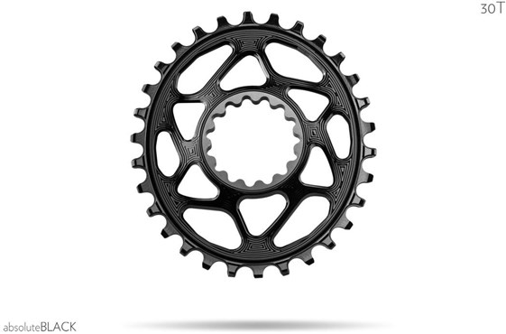 absoluteBLACK OVAL E13 Direct Mount Chainring N/W