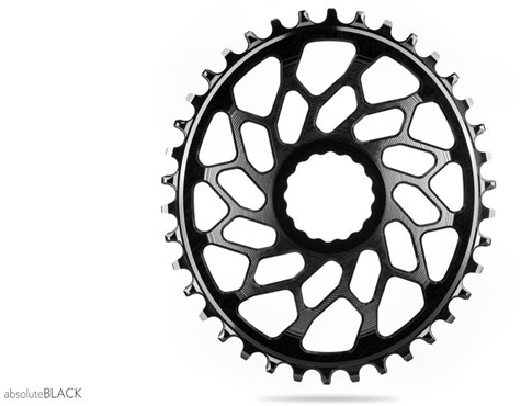 Absolute Black Oval chainrings for MTB and road-1x10 1x11 1x12