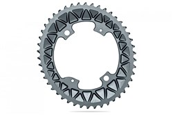 Product image for absoluteBLACK OVAL Road/Gravel 110/4 2X Subcompact  for 9100/8000/9000/6800 Chainring