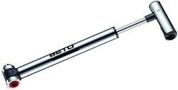 Beto EZ001A  HiPressure All Alloy Road Mini Pump