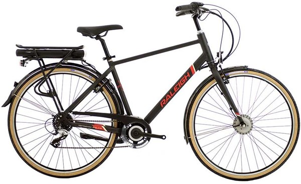 Raleigh Array E-Motion Crossbar 700c - Nearly New - M 2017 - Electric Hybrid Bike | City-cykler