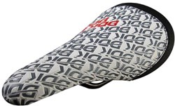Product image for DDK 242 D9 - BMX Saddle with Cro-Mo Rails