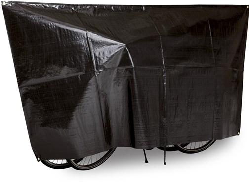 Image of VK Duo Waterproof 2-Bike Bicycle Cover Incl. 5m Cord