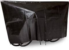 VK Duo Waterproof 2-Bike Bicycle Cover Incl. 5m Cord