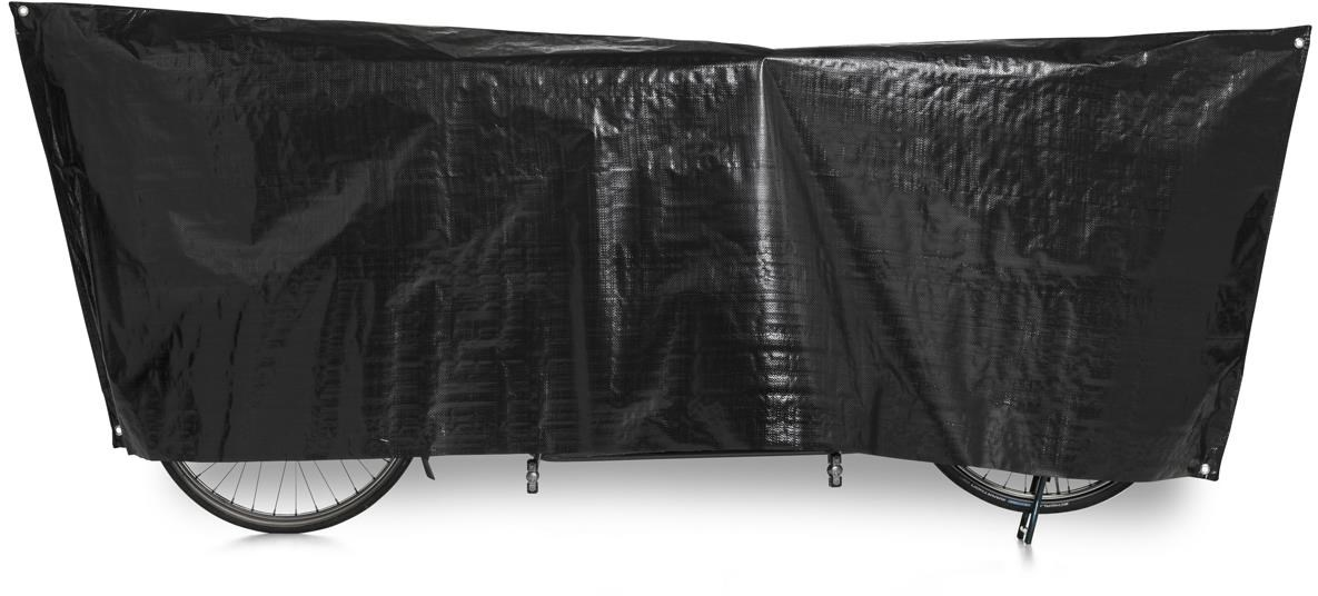 VK Tandem Waterproof Tandem Bicycle Cover Incl. 5m Cord | Bike garage
