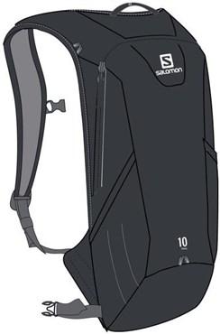 Salomon Trail 10 Set Backpack - Hydration Bladder Compatible