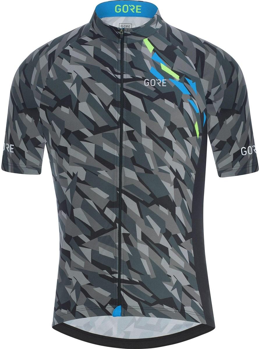 Gore C3 Camo Short Sleeve Jersey | Trøjer