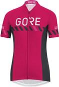 Gore C3 Brand Womens Short Sleeve Jersey SS18