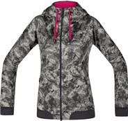 Gore C5 Windstopper Trail Camo Hooded Womens Jacket
