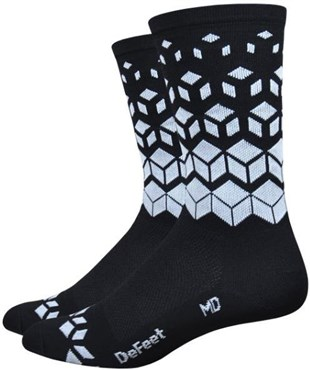 "Defeet Aireator 6"" Barnstormer On the Rocks Socks"