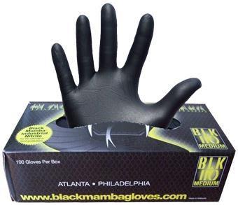 Black Mamba Nitrile Workshop Gloves   Værktøj