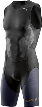 Skins DNAmic Triathlon Compression Suit With Back Zip