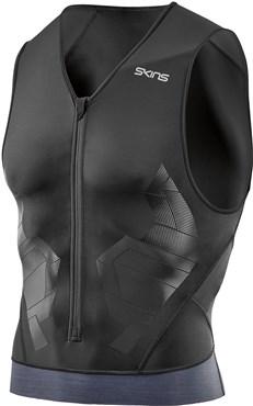 Skins DNAmic Triathlon Sleeveless Compression Top | Compression