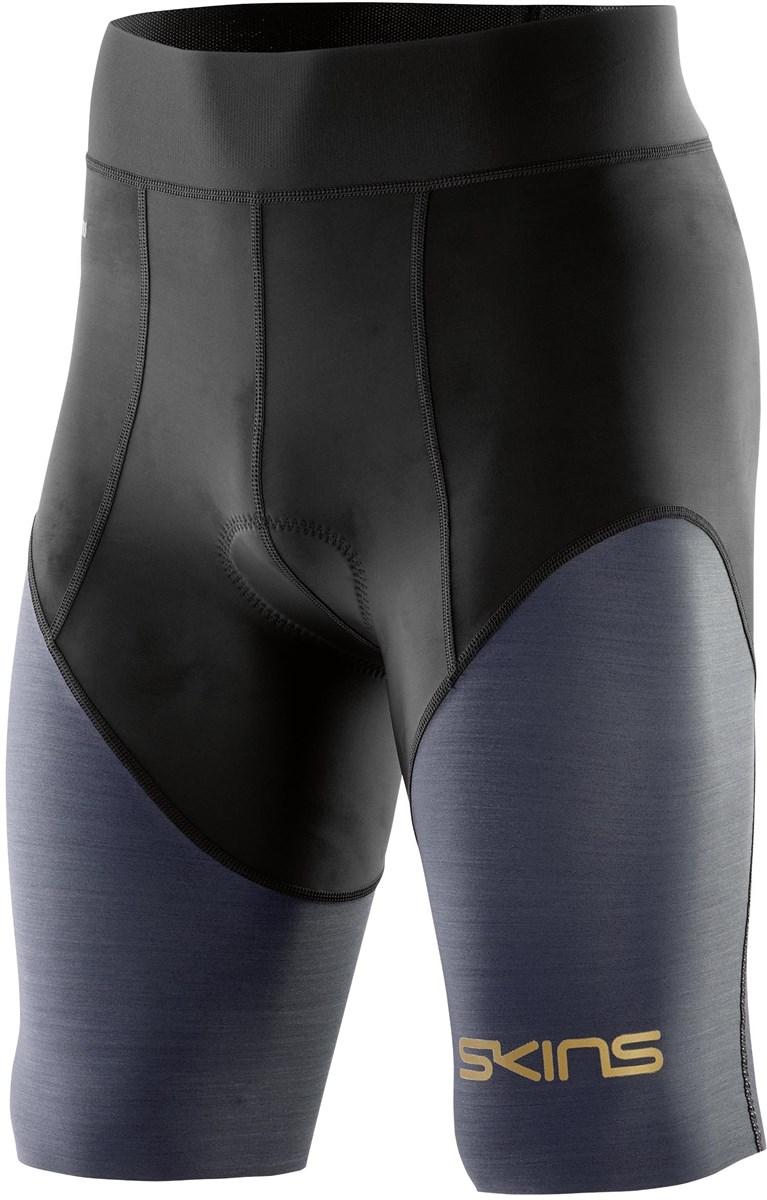 Skins DNAmic Triathlon 1/2 Length Compression Tights | Kompressionstøj