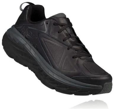 Hoka Bondi Leather Womens Running Shoes