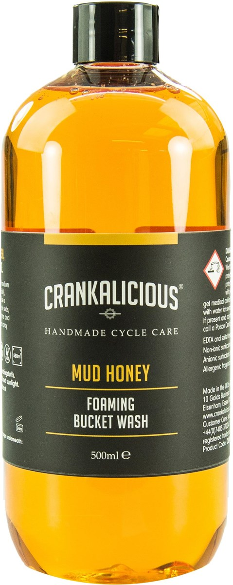 Crankalicious Mud Honey Foaming Bucket Wash / Bike Cleaner | polish_and_lubricant_component