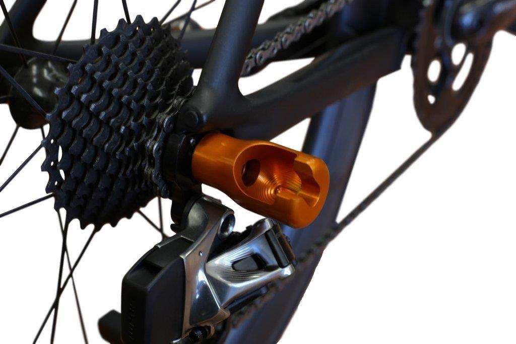SeaSucker Hogg Revolutionary Aluminium Front Wheel Holder for Komodo | Cykelholder til bil