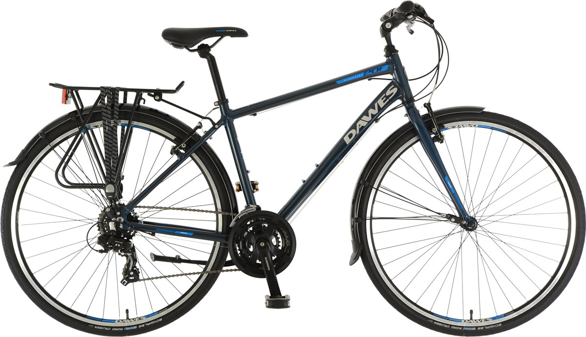 Dawes Discovery 201EQ 2019 - Hybrid Sports Bike | City-cykler