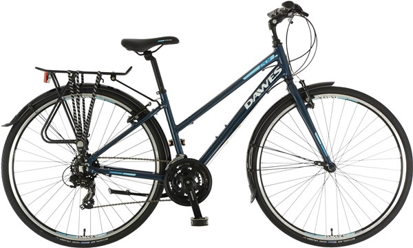 Dawes Discovery 201EQ Low Step Womens 2018 - Hybrid Sports Bike