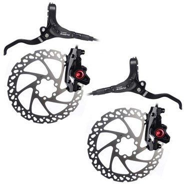 Clarks M2 Hydraulic Front and Rear Brakeset with Mounts and Bolts
