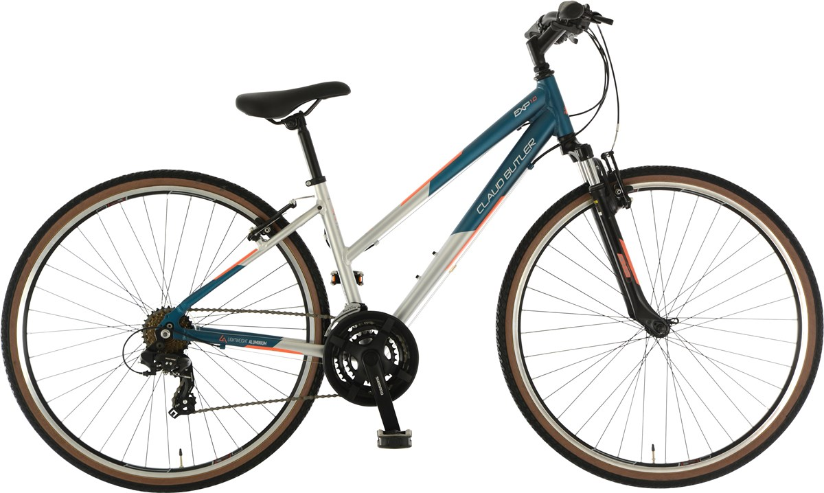 Claud Butler EXP 1.0 Low Step Womens 2019 - Hybrid Sports Bike | City-cykler
