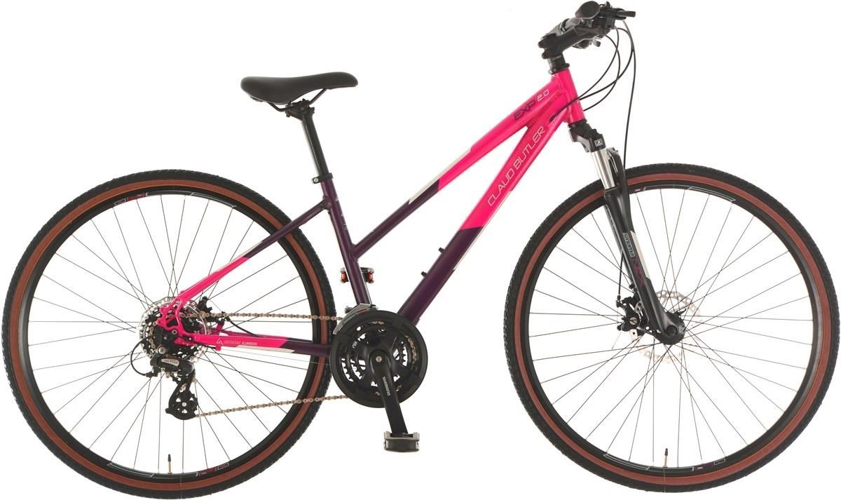 Claud Butler EXP 2.0 Low Step Womens 2019 - Hybrid Sports Bike | City-cykler
