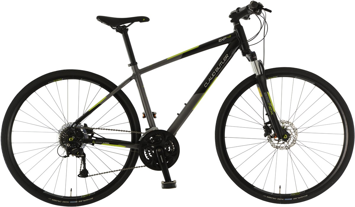 Claud Butler EXP 4.0 2019 - Hybrid Sports Bike | City-cykler