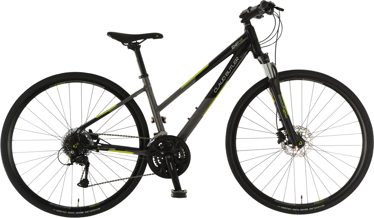 Claud Butler EXP 4.0 Low Step Womens 2019 - Hybrid Sports Bike | City-cykler