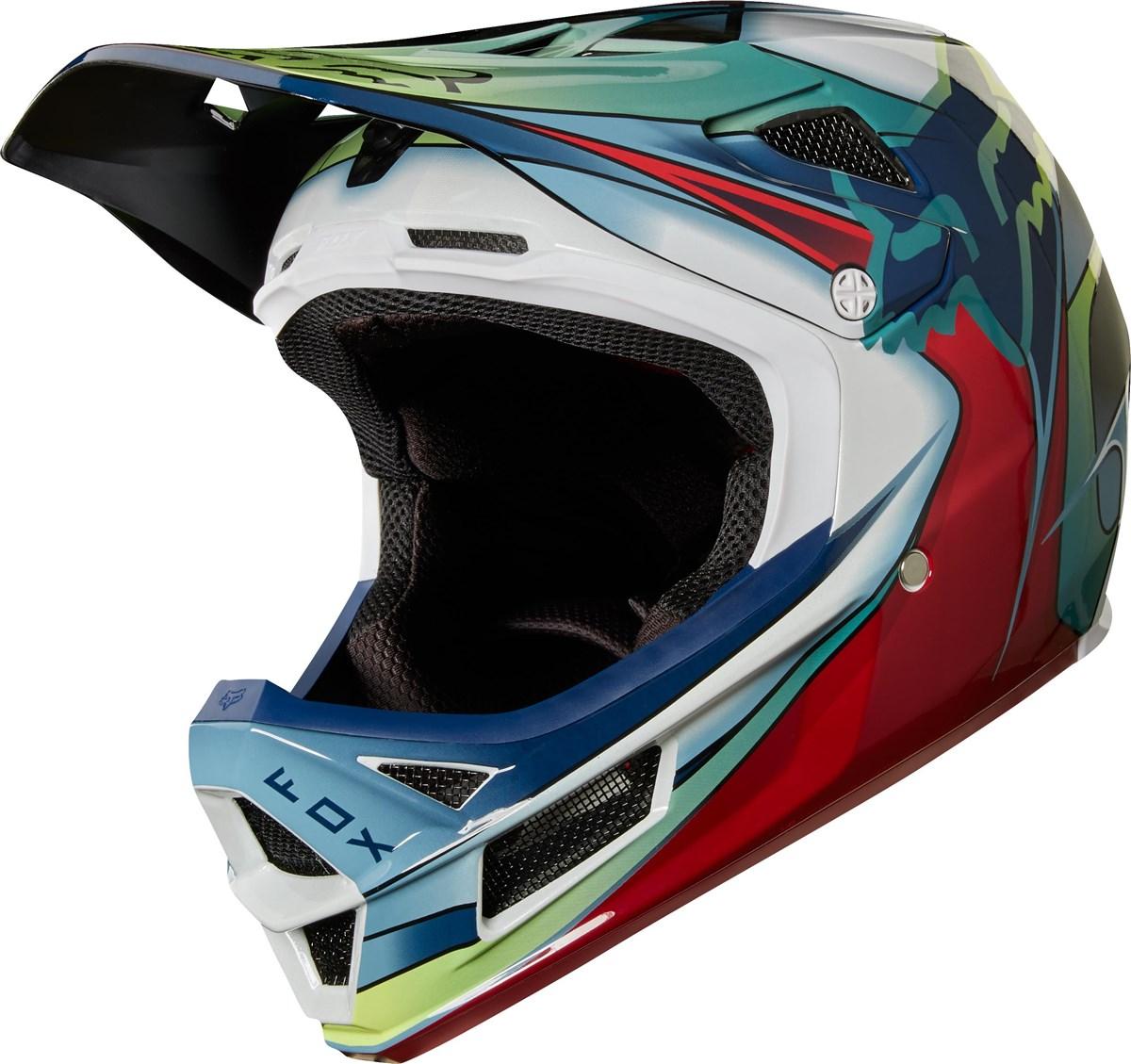 Fox Clothing Rampage Pro Carbon Kustm Full Face MTB Helmet | Helmets