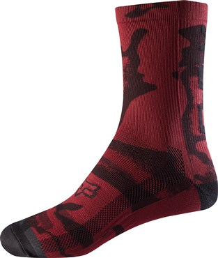 "Fox Clothing 8"" Print Womens Socks"