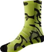 """Fox Clothing 8"""" Print Socks"""