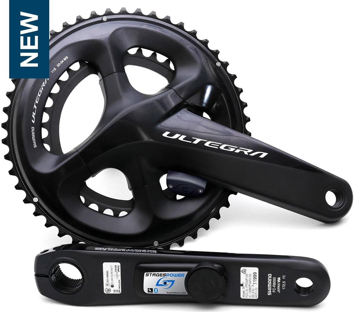 Stages Cycling Power Meter Ultegra R8000 LR | Powermeter
