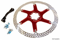 Formula Hardware Kit 2 Piece Rotor Fox 40
