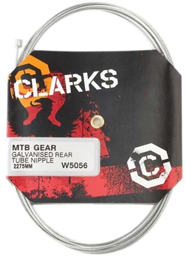 Clarks Universal Galvanised Inner Gear Wire Tube Nipple