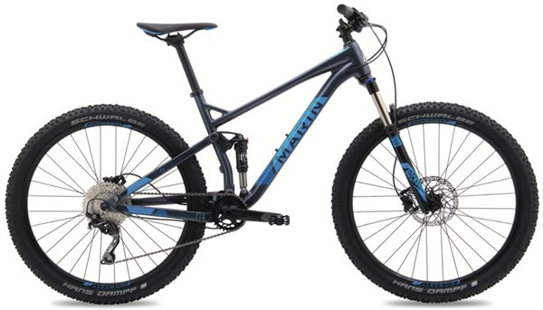 "Marin Hawk Hill 27.5"" / 650B - Nearly New - 17"" - 2017 Mountain Bike"