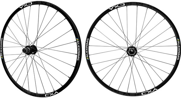 "Alexrims VXD7A - 26"" Disc Wheelset - Tubes/Tyres Bundle"