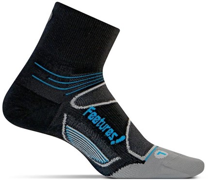 Feetures Elite Ultra Light Quarter Socks (1 pair) | Socks