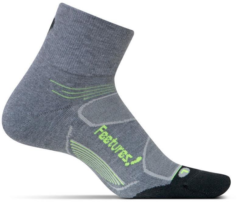 Feetures Elite Max Cushion Quarter Socks (1 pair) | Strømper