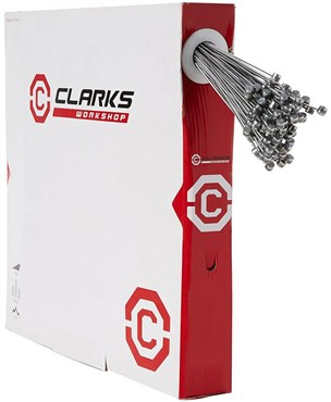 Clarks Road Front/Rear Brake Wire Pear Nipple Stainless