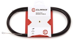 Product image for Clarks Stainless Steel Brake Cable with Outer MTB/Road/Hybrid