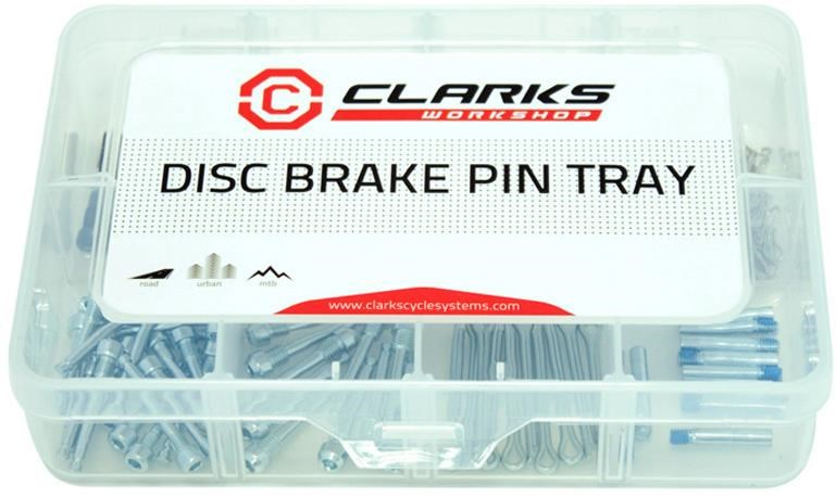 Clarks Disc Pad Pin Tray | nuts_and_bolts_component