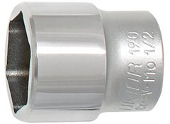 Unior Flat Socket For Suspension Service 23 1783/1