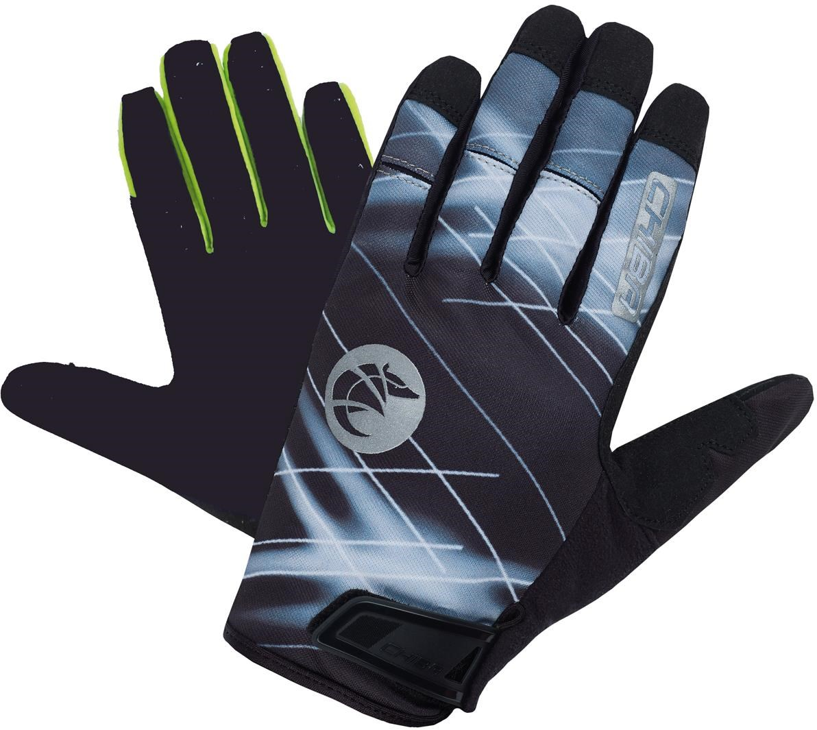 Chiba Twister Long Finger Cycling MTB Gloves   Gloves